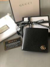 Gucci black double g Wallet