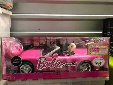 BARBIE DOLL PINK RADIO CONTROLLED CORVETTE MATTEL NIB