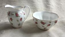 Royal Albert Rosalie sugar bowl & Panna ottime condizioni perfette