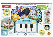 Mattel Fisher-Price Rainforest Piano-Gym mit Musik Baby Spielzeug Kinderspiele