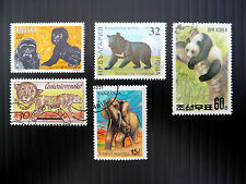 ANIMALS Wholesale 5 Different x 500 of Each 2,500 Stamps FP2607