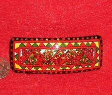 Pince à Cheveux Barrette Authentique Russe Peint à la main mezen Style Laque papier Mâché