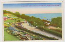Essex postcard - The Crazy Path & Rock Gardens, Westcliff on Sea