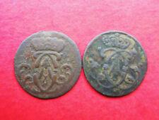 Stuber altdeutsche Kleinmünzen & Teilstücke aus Kupfer