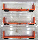 ATHEARN READY TO ROLL 90548 ILLINOIS CENTRAL GULF 60' BULKHEAD FLAT CAR HO SCALE
