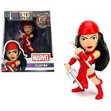"Jada Marvel Elektra 4"" Metals Diecast Action Figure 98093"