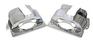 EMPI VW Type 1 Engine Dual-Port Cylinder Cooling Tins Pr. Chrome