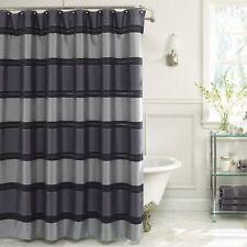 "VUE BY ELLERY Jardin Stripe Shower Curtain 72"" x 72""  Color: Indigo"