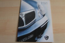 87348) Lancia Lybra Prospekt 08/1999