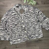 MARC NEW YORK Andrew Marc Women's Oversized Cardigan Sweater Size XL NWT