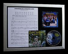 IRON MAIDEN Stranger Strange Land QUALITY CD LTD FRAMED DISPLAY+FAST GLOBAL SHIP
