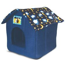 Ancol Moon & Stars Indoor House Pet Bed for Small Dog Puppy, Cat, Kitten, Rabbit