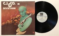 C.J. & Co. LP 1977 Devil's gun - Westbound WB 301 Vinyl LP
