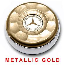 ZIEGLERWORLD TABLE SHUFFLEBOARD MEDIUM SIZE WEIGHTS PUCKS - METALLIC GOLD