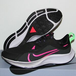 Nike Air Zoom Pegasus 37 Shield Running Shoes Mens 7.5 CQ7935-003 Black Pink