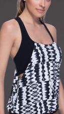 Profile Sport by Gottex Blouson Reserback Tanking Top With Attached Swim Bra