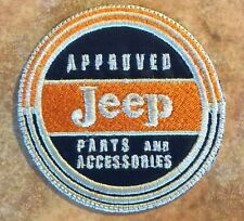 **LOVE IT OR IT'S FREE** Jeep Approved parts & accesories patch vintage, Iron On