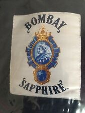 Bombay Sapphire Decke Fleecedecke Kuscheldecke Neu In Bleumarine Farbe  Ideal