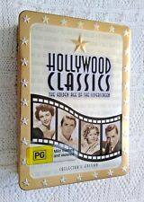 HOLLYWOOD CLASSICS-THE GOLDEN AGE OF SILVERSCREEN -COLLECTER'S EDITION – DVD