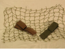 """WWII 2"""" Helmet Netting and Scrim or Burlap Camouflage"""