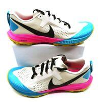 Nike Womens Air Zoom Terra Kiger Trail Running Shoes AQ2220-100 Beige 12 New