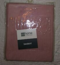 NWT Jcpenney Home Collection Pink Queen Bedskirt