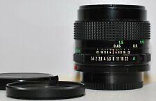 Canon lens FD 50mm f/1,4; guter Zustand