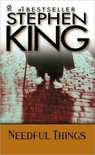 Stephen KING / __ NEEDFUL THINGS            [ Audiobook ]