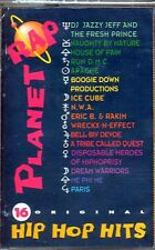 PLANET RAP - 16 ORIGINAL HIP HOP HITS - MC MUSICASSETTA NUOVA ICE CUBE RUN D.M.C