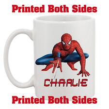 Personalised Spiderman Your Name 10oz Mug Kids Adults Birthday Gift