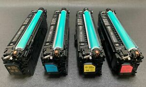 HP M553 M577 508A CF360A CF361A CF362A CF363A Toner Set  - Genuine!