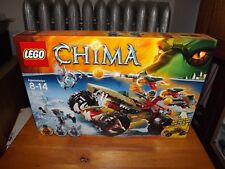 Lego, Chima, Cragger'S Fire Striker, Kit #70135, 380 Pieces, New In Box, 2014