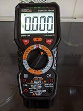 Tacklife DM01M Digital Multimeter True RMS 6000 Counts Manual Ranging