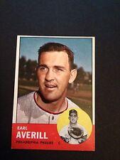 1963 TOPPS # 139 EARL AVERILL - PHILADELPHIA PHILLIES - NM-MT(st)