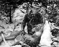 ANTIQUE REPRO 8X10 PHOTOGRAPH FAMED HUNTER AND BOW MAKER FRED BEAR # 18