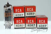 5 Vintage RCA 6DR7 Noval Double Triode Oscillator/Amplifier- BangyBang Tubes