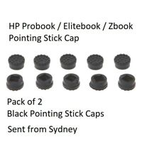 2x HP Elitebook Probook Zbook Trackpoint Pointing Pointer Mouse Stick Rubber Cap