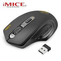 Imice USB Drahtlose maus 2000 DPI Einstellbar USB 3.0 Empfänger Optische Compute