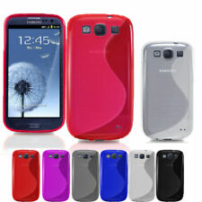 S-Line Silicon Gel Shockproof Case For Samsung Galaxy S3 & S3 Mini + Free SP