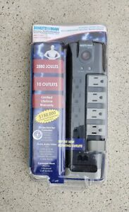 Minuteman MMS7100RT Surge Suppressor 10 outlets  7-ft Power Cord