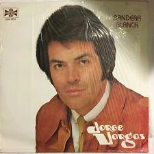 JORGE VARGAS BANDERA BLANCA MEXICAN 1986 LP AUTOGRAPHED POP EN ESPAÑOL