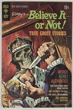 Ripley's Believe it or not True Ghost Stories #23 December 1970 VG+