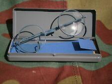 Occhiali lenti vista montatura tedeschi dienstbrille, WW2 German glasses goggles