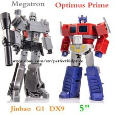 """New In Stock JINBAO Action Figure Optimus Prime Megatron G1 MP10 Enlarged DX9 5"""""""