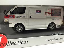 TOYOTA HIACE Malaysia Post Delivery Van 2007 J COLLECTION 1:43 DIECAST-JCL171
