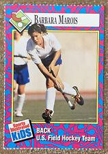1993 Sports Illustrated For Kids Card Field Hockey Barbara Marois #202
