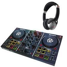 Numark Party Mix Partymix DJ Controller w Built-In Light Show + HF125 Headphones