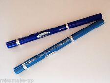 2 Laval Twist Up Waterproof Eye Liner Pencils Blue & Light Blue