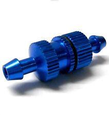 L11505 1/10 R/C RC Nitro Engine Small Inline Alloy Oil Fuel Filter Blue