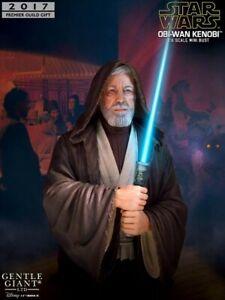 Gentle Giant Star Wars A New Hope Obi Wan Kenobi PGM Exclusive Light Up Bust New